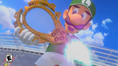 Mario Tennis Aces - Tráiler del Modo Aventura