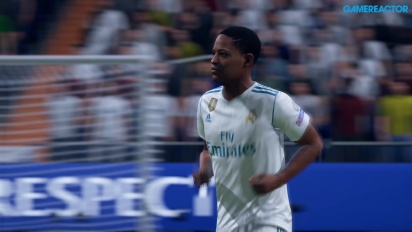 FIFA 19 - Gameplay 4K de El Camino: Campeones Real Madrid - Manchester United