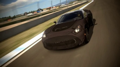 Gran Turismo 5 - Exclusive Drive the Corvette C7 Test Prototype Trailer