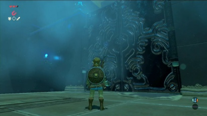 The Legend of Zelda: Breath of the Wild -video (Magnesis ability in Shrine Oman Au)