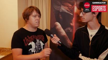 Tekken 7 - Entrevista a Michael Murray en las finales de Tekken World Tour