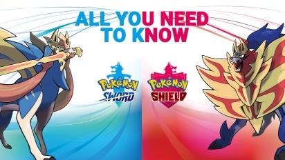Pokémon Espada y Escudo - Todo lo que debes saber (Patrocinado)