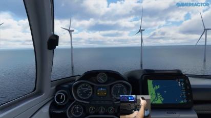 Microsoft Flight Simulator - Vuelo breve sobre Copenhague con el stick de Thrustmaster