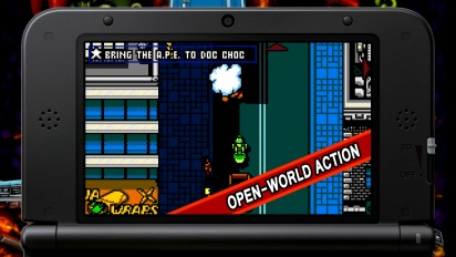 Retro City Rampage - 3DS Trailer