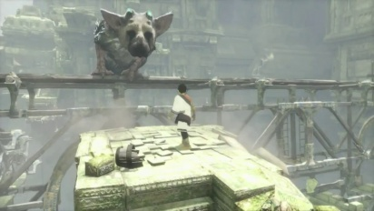 The Last Guardian - E3 2015 Sony's Gameplay Walkthrough