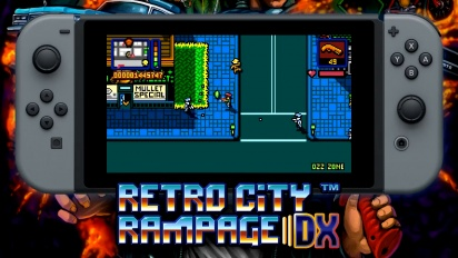Retro City Rampage DX - Nintendo Switch Announcement Teaser
