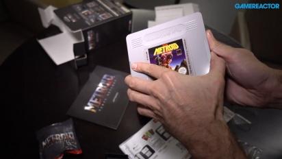 Metroid: Samus Returns - Legacy Edition - Unboxing de Gamereactor en inglés