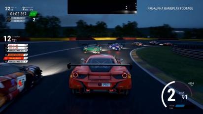 Assetto Corsa Competizione - Gameplay Día/Noche en el circuito de Spa-Francorchamps con Ferrari 488 GT3