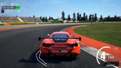 Assetto Corsa Competizione - Gameplay pista seca en el circuito de Misano con Ferrari 488 GT3