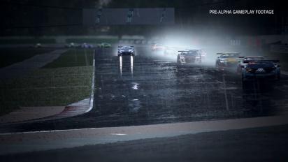 Assetto Corsa Competizione - Gameplay Lluvia en el circuito de Misano con Mercedes AMG GT3