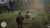 Red Dead Redemption 2 - Gameplay en el campamento