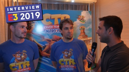 Crash Team Racing Nitro-Fueled - Entrevista a Stephane Gravel y Andrew Petrie