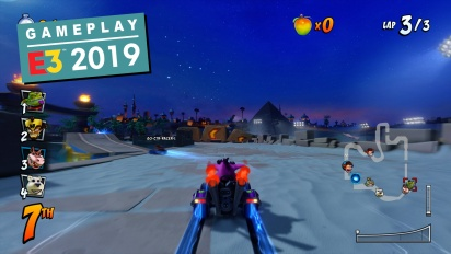 Crash Team Racing Nitro-Fueled - Gameplay en Jungle Boogie y Twilight Tour