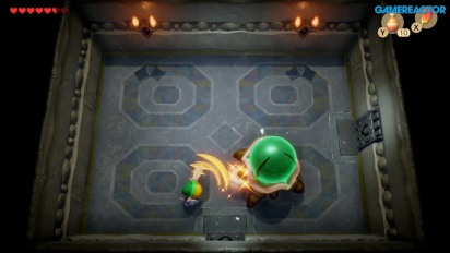 The Legend of Zelda: Link's Awakening - Gameplay en la Mazmorra del Color