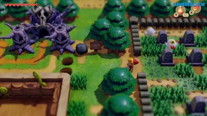 The Legend of Zelda: Link's Awakening - Gameplay por la Isla Koholint