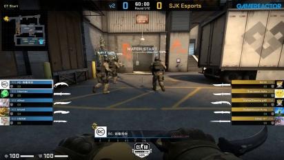OMEN by HP Liga - Div 1 Round 7 - V2 vs SJK Esports - Train.