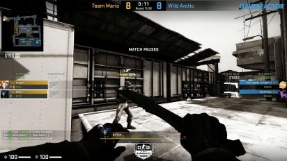 Steelseries League 2v2 - Team Mario vs Wild arctic on Train