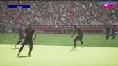 eFootball 2022 - Primer gameplay PS5 - partido completo Bayern vs Barça