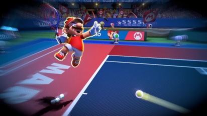 Mario Tennis Aces - Tráiler español de lanzamiento