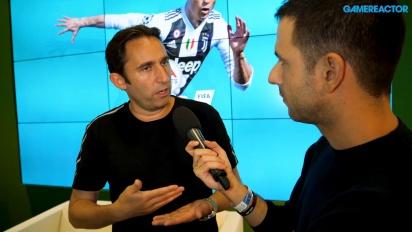 FIFA 19 - Entrevista a Matthew Prior en Gamescom