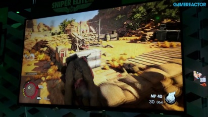 E3 2014: Sniper Elite 3 - Gameplay