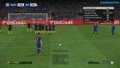 Pro Evolution Soccer 2017 - Gameplay partido FC Barcelona vs Manchester City previa de Champions