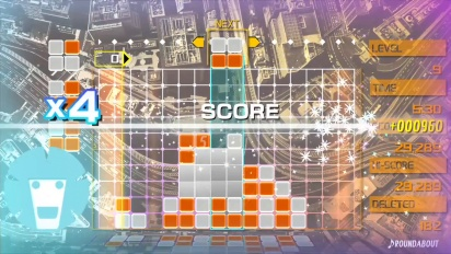 Lumines Remastered - Announcement Trailer