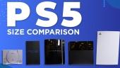 PS5 - Comparación real de tamaño