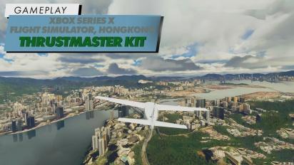 Flight Simulator - Volando sobre Hong Kong en 4K con Xbox Series X y + T.Flight Full Kit