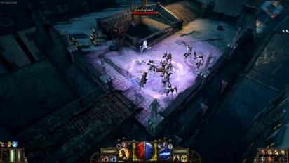 The Incredible Adventures of Van Helsing - Rooftop Mayhem Gameplay Trailer