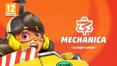 ARMS - Tráiler español de personajes en 1080p60