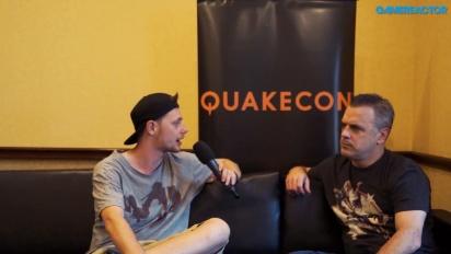 QuakeCon - Entrevista a Pete Hines
