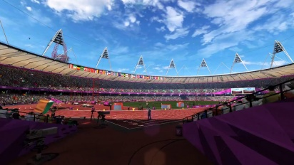 London 2012 - The Official Video Game of the Olympic Games - Olympic Stadium Flythrough