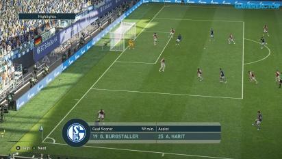 Pro Evolution Soccer 2019 - Gameplay HD partido completo Schalke 04 vs Mónaco