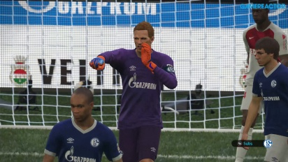 Pro Evolution Soccer 2019 - Gameplay 4K partido completo Schalke 04 vs Mónaco+