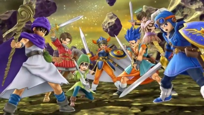 Super Smash Bros. Ultimate - Tráiler Revelación del Héroe de Dragon Quest