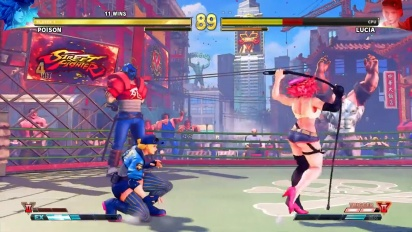 Street Fighter V: Arcade Edition - Character Introduction Series: Poison