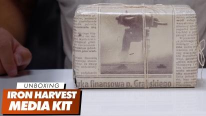 Iron Harvest Media Kit - Unboxing