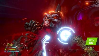 Doom Eternal - Gameplay Oficial GeForce RTX 3080 Ti 4K Ray Tracing