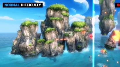 Sine Mora - Official Normal vs. Insane Gameplay Comparison Trailer