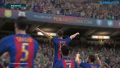 Pro Evolution Soccer 2017 - Gameplay PES 2017 partido completo Barcelona - Arsenal
