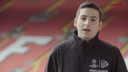 Pro Evolution Soccer 2017 - PES League Anfield: Entrevista de Konami a Alex Alguacil