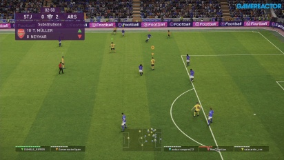 eFootball PES 2020 DP6 - Gameplay online myClub co-op -  St. Johnstone contra Arsenal