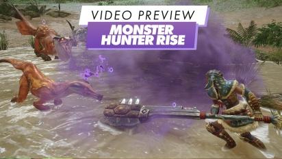 Monster Hunter Rise - Avance en vídeo