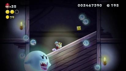 New Super Mario Bros. U - tráiler de lanzamiento europeo