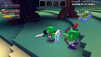 Cube World - Weapon Overview Trailer