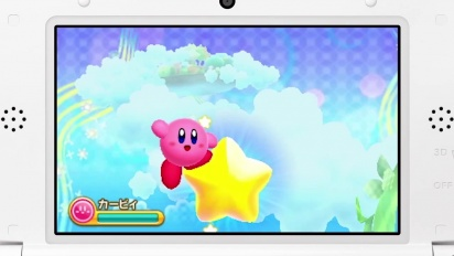 Kirby for Nintendo 3DS - Announcement Trailer