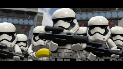 Lego Star Wars: El Despertar de la Fuerza - Tráiler español de gameplay descriptivo
