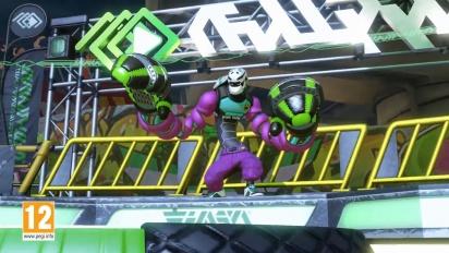 ARMS - Presentación de gameplay de Kid Cobra