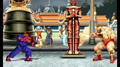 Ultra Street Fighter II: The Final Challengers - Shin Akuma Trailer